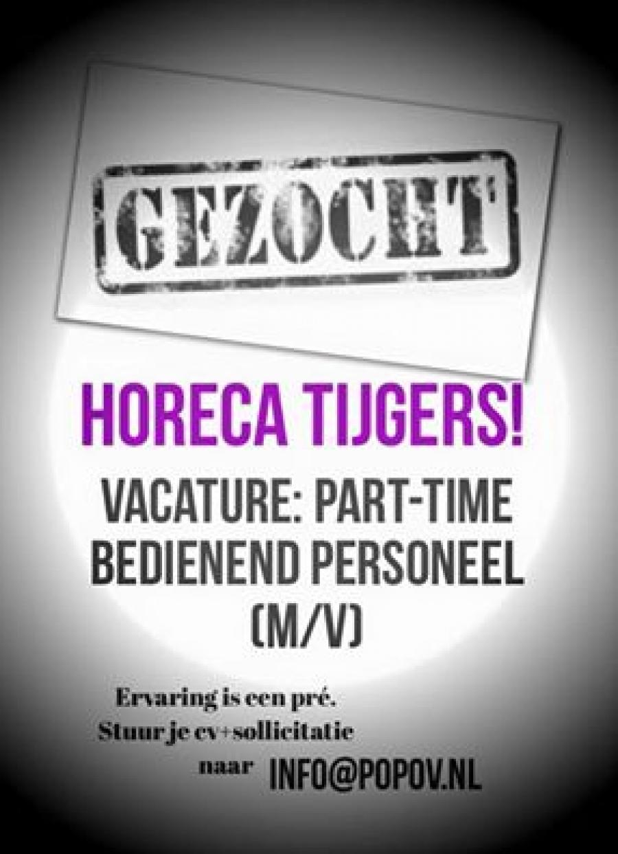 sollicitatie tijger Gezocht   Horeca Tijgers! sollicitatie tijger